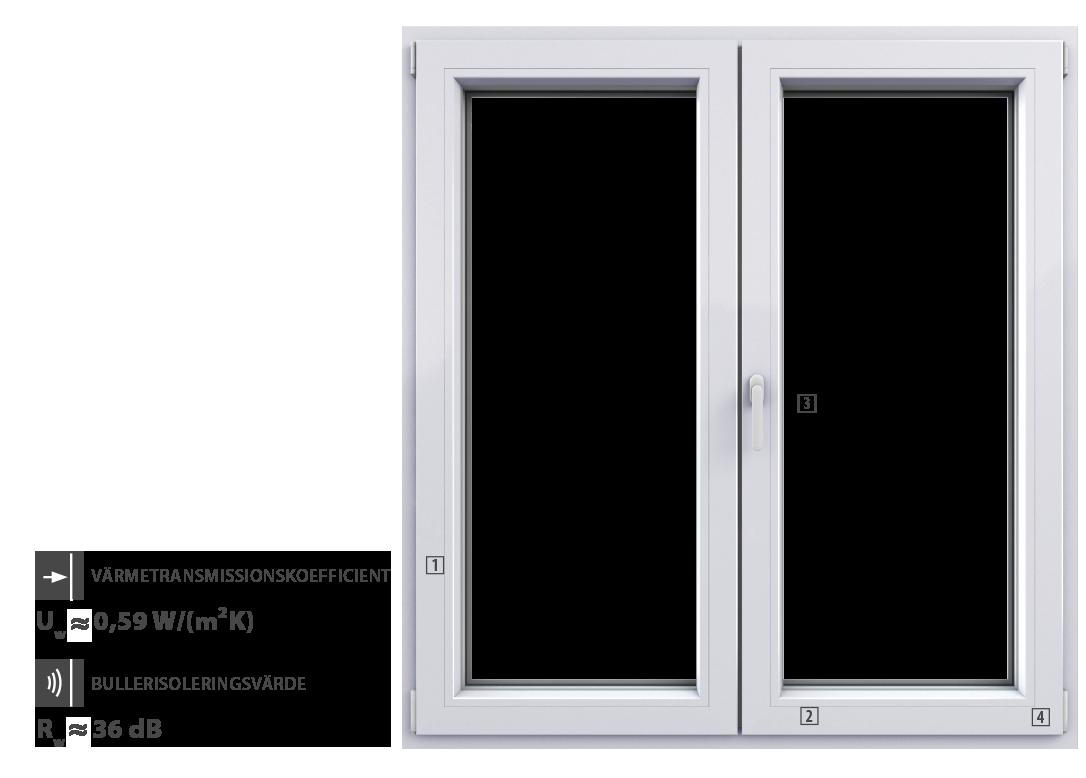 Winergetic Passive - PVC fönster - Windo - Oknoplast, pvc passive ... : tätningslist fönster : Fönster